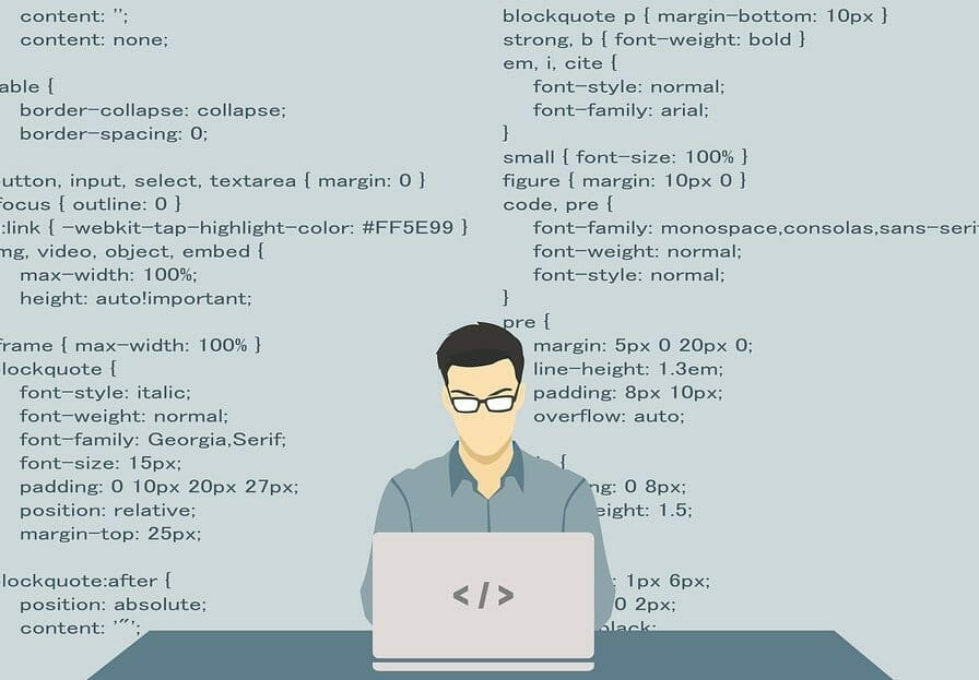 man within a code
